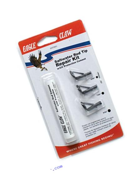 Eagle Claw SWTAEC Saltwater Rod Tip Repair Kit